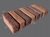 2-5x10brick-cap