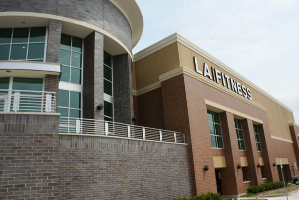 Brick Veneer at LA Fitness