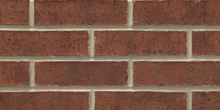 Acme Brick - Burgundy Heritage Texture, King Size thinBRIK