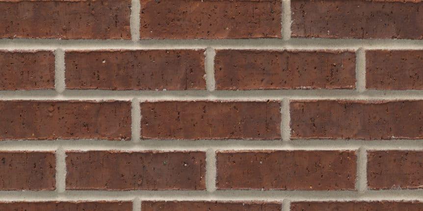 Acme Brick - Burgundy Heritage Texture, Modular thinBRIK