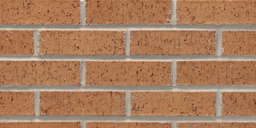 Acme Brick - Burnt Pumpkin Velour Texture, Modular thinBRIK