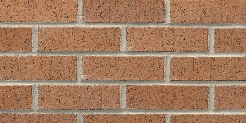 Acme Brick - Caramel Ironspot Velour Texture, Modular thinBRIK