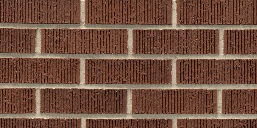 Acme Brick - Crimson Ruff Texture, Modular thinBRIK