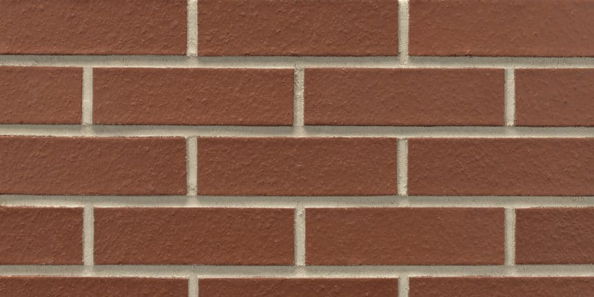 Acme Brick - Crimson Smooth Texture, Modular thinBRIK