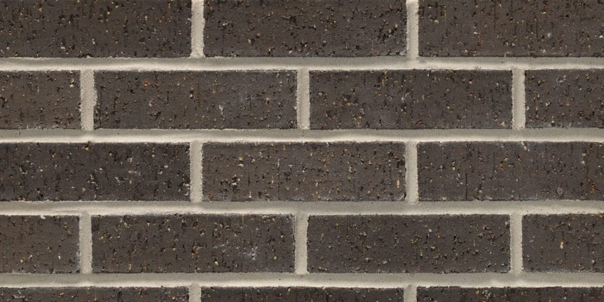 Acme Brick - Ebony Velour Texture, Modular thinBRIK