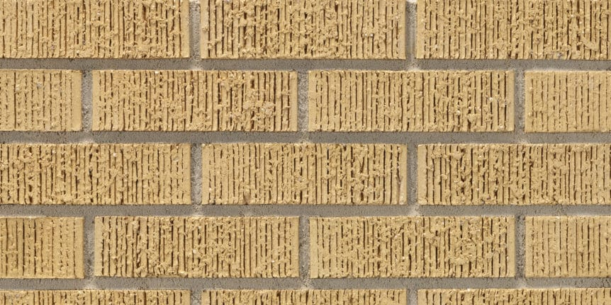 Acme Brick - French Vanilla Medium Ruff Texture, Modular thinBRIK