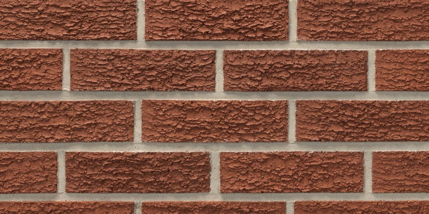 Acme Brick - Garnet Bark Texture, Modular thinBRIK