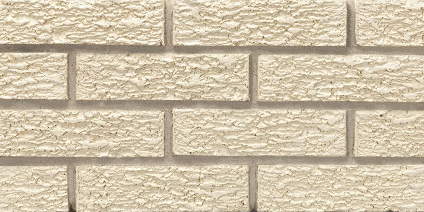 Acme Brick - Glacier White Bark Texture, King Size thinBRIK