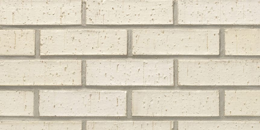 Acme Brick - Glacier White Velour Texture, Modular thinBRIK