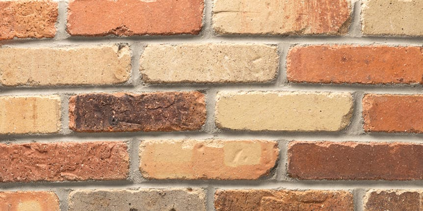 Acme Brick - Kingsbridge Rumbled Texture, Modular thinBRIK