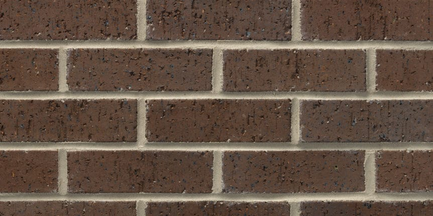 Acme Brick - Mocha Ironspot Velour Texture, Modular thinBRIK