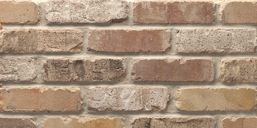 Acme Brick - Paddington Rumbled Texture, Modular thinBRIK