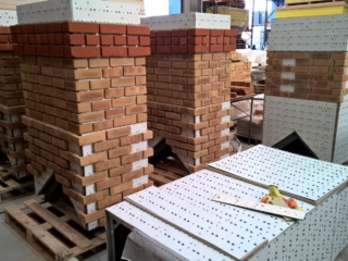Thin Brick - Chimney Mid Construction