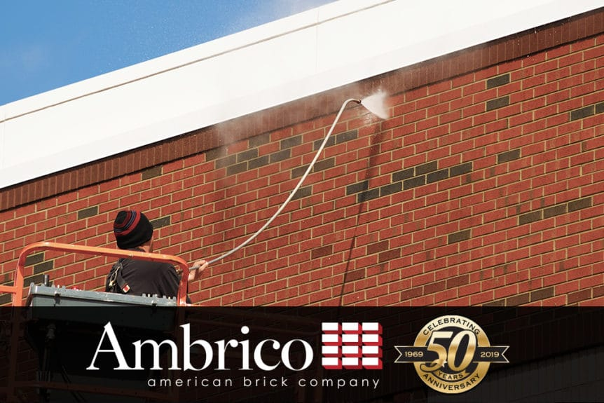 Cleaning Brickwork