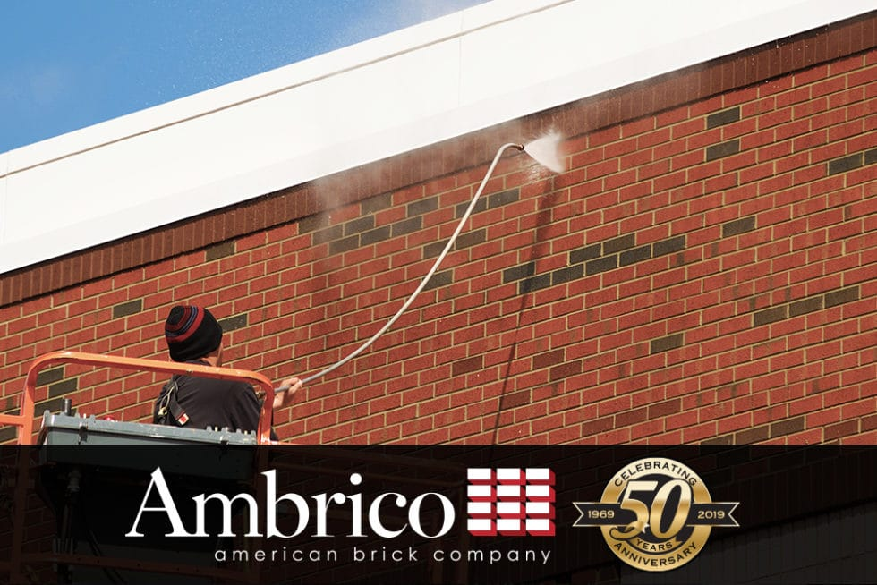 Cleaning Brickwork