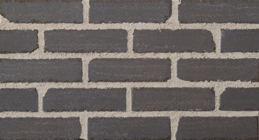 Feldhaus Thin Brick - 1 Tumbled Anthracite Smooth 700
