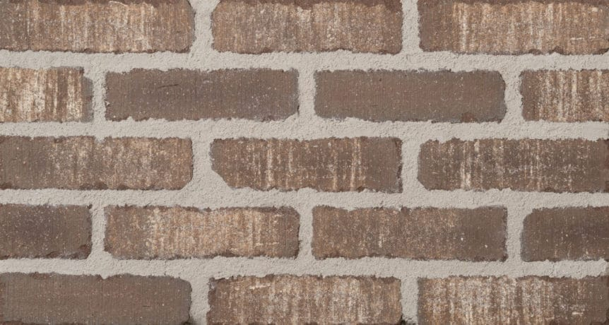 Feldhaus Thin Brick - 1 Tumbled Brown White Waterstruck 749