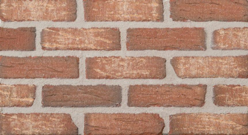 Feldhaus Thin Brick - 1 Tumbled Cherokee 690