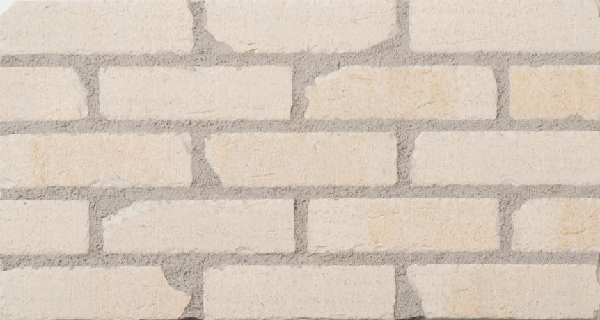 Feldhaus Thin Brick - 1 Tumbled Cream Waterstruck 757