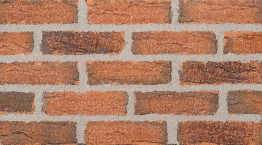 Feldhaus Thin Brick - 1 Tumbled Mojave 687