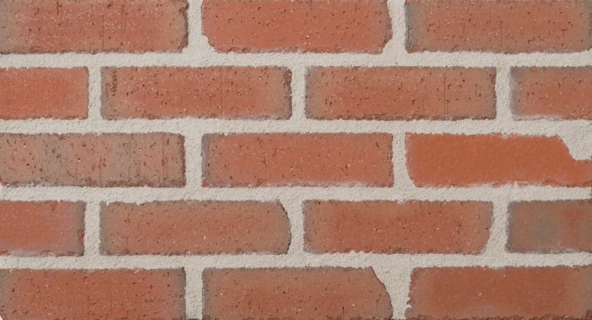 Feldhaus Thin Brick - 1 Tumbled Red 313
