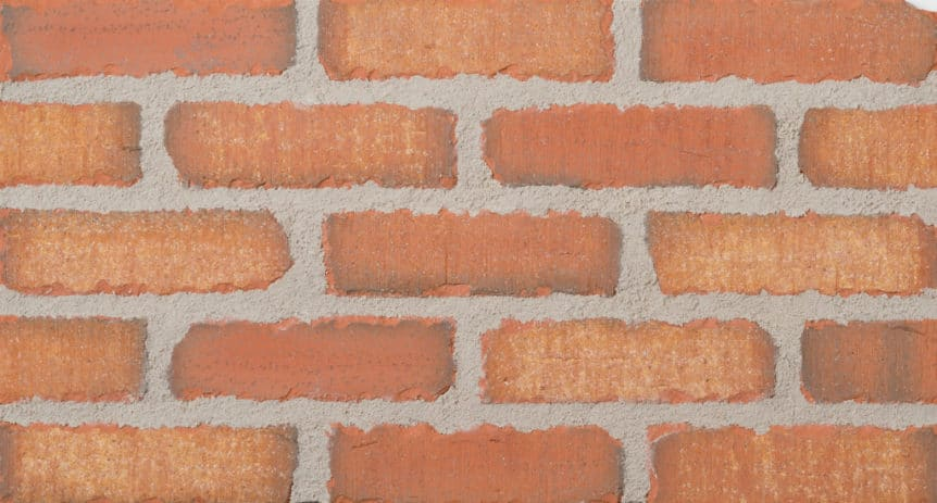 Feldhaus Thin Brick - 1 Tumbled Sienna Waterstruck 758