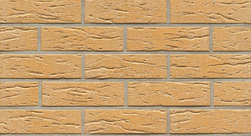 Feldhaus Thin Brick - 216 Mustard Creased Sanded