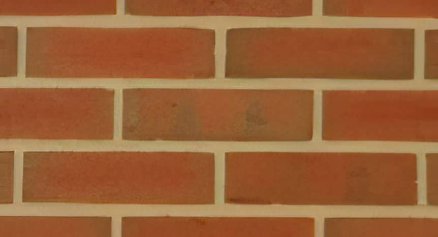 Feldhaus Thin Brick - 387 Red Flashed Rustic