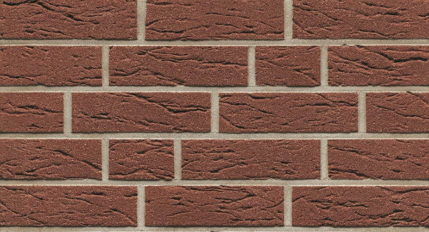 Feldhaus Thin Brick - 535 Earth Brown Creased Sanded