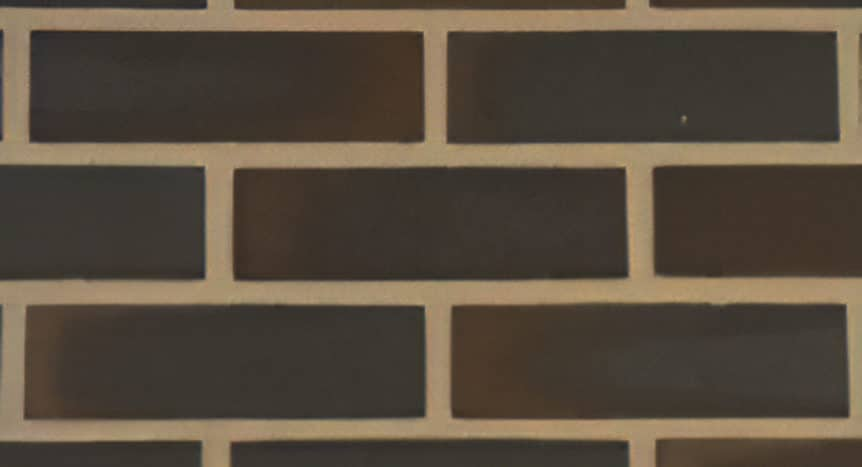 Feldhaus Thin Brick - 543 Anthracite Flashed