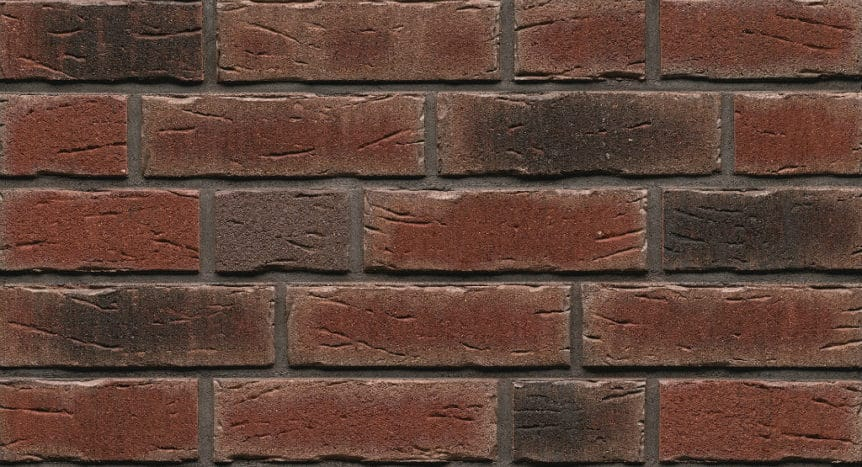 Feldhaus Thin Brick - 663 Dark Red Handform