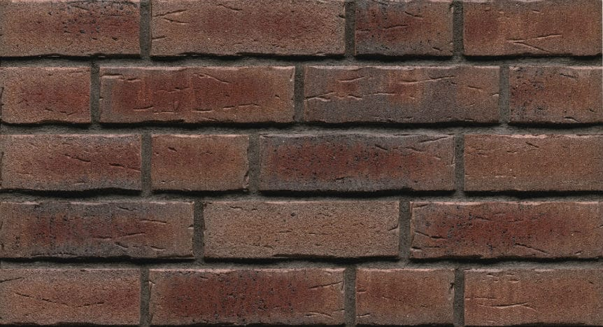 Feldhaus Thin Brick - 664 Deep Wine Handform