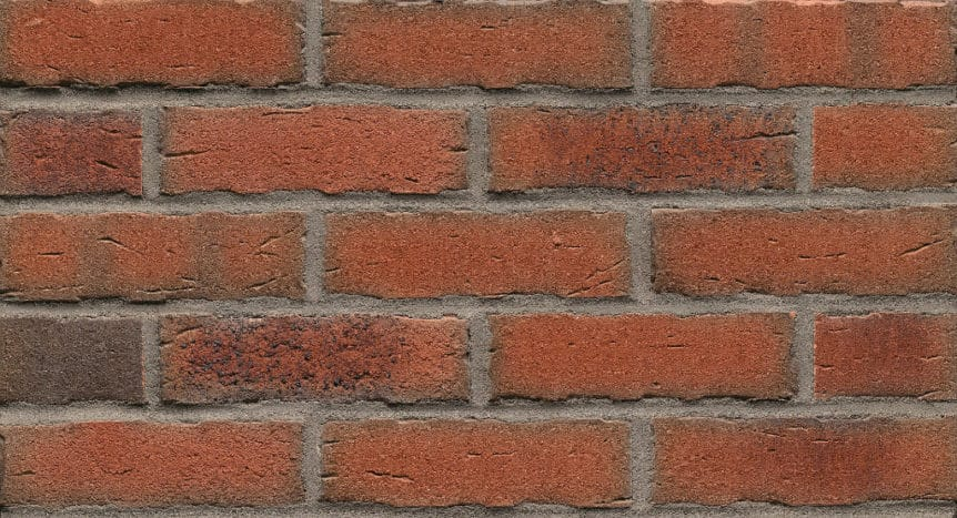 Feldhaus Thin Brick - 698 Orange Coal Handform