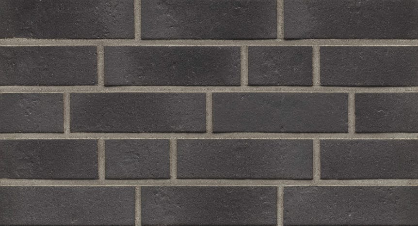 Feldhaus Thin Brick - 717 Anthracite Traditional