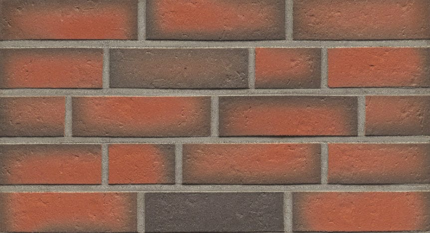Feldhaus Thin Brick - 719 Orange Flashed Traditional