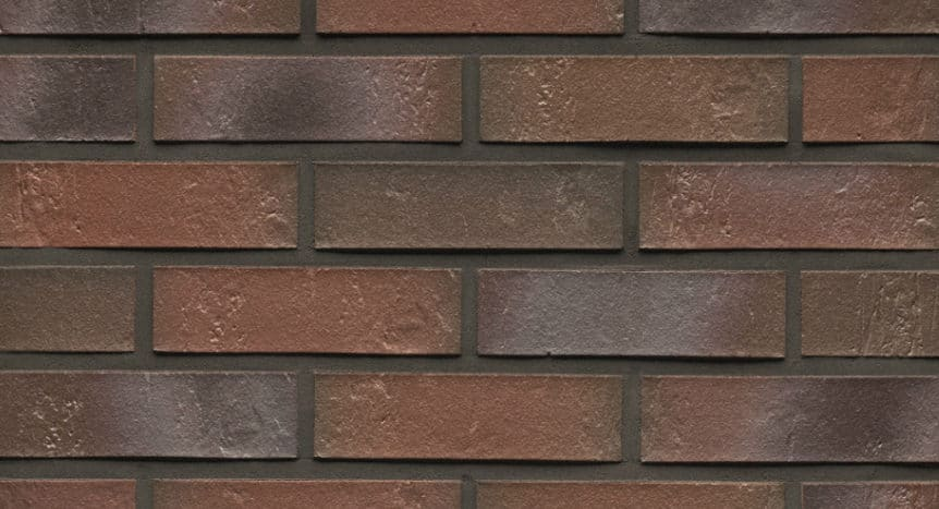 Feldhaus Thin Brick - 721 Brown Flashed Traditional