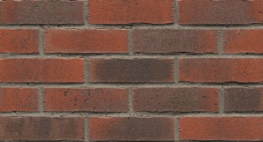 Feldhaus Thin Brick - 743 Dark Traditional Waterstruck