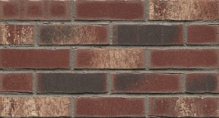 Feldhaus Thin Brick - 746 Merlot Waterstruck