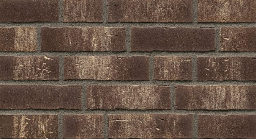 Feldhaus Thin Brick - 749 Brown White Waterstruck