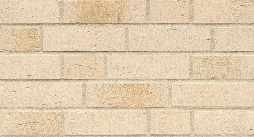Feldhaus Thin Brick - 757 Cream Waterstruck