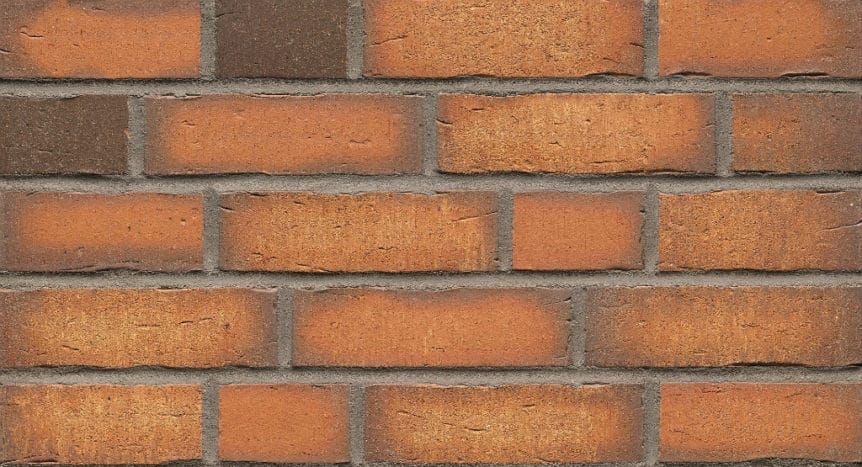 Feldhaus Thin Brick - 758 Sienna Waterstruck
