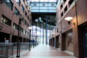 Ford Field Atrium