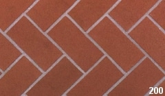 Marion Ceramics - BrickTile Products - 200 Plantation Red