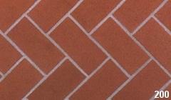 Marion Ceramics - BrickTile Products - 200 Plantation Red