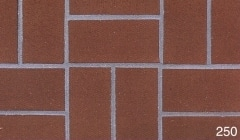 Marion Ceramics - BrickTile Products - 250 Havana Red
