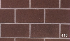 Marion Ceramics - BrickTile Products - 410 Gunstock Brown
