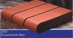 Marion Ceramics - Coping Products - 200 - Plantation Red