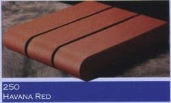 Marion Ceramics - Coping Products - 250 - Havana Red