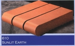 Marion Ceramics - Coping Products - 610 - Sunlit Earth