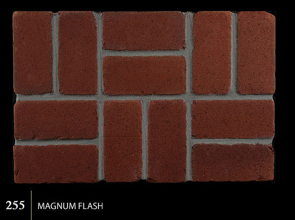 Marion Ceramics - Tumbled BrickTile - 255 | Magnum Flash